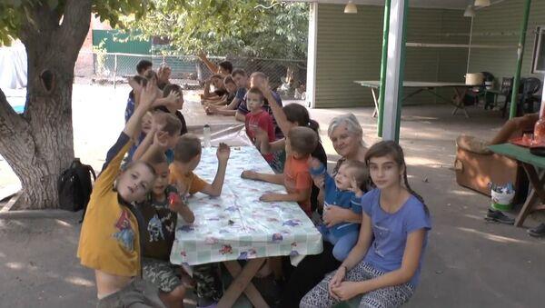14 школьников из одной семьи - Sputnik Абхазия