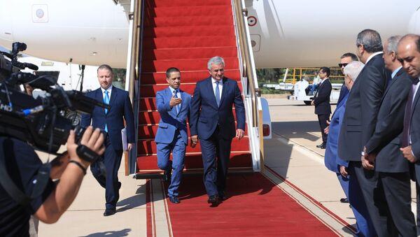 Президент Республики Абхазия Рауль Хаджимба во время официального визита в Сирийскую Арабскую Республику - Sputnik Абхазия
