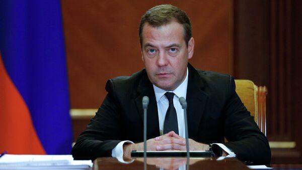 Премьер-министр РФ Д. Медведев провел заседание президиума Совета при президенте РФ по стратегическому развитию и национальным проектам - Sputnik Абхазия