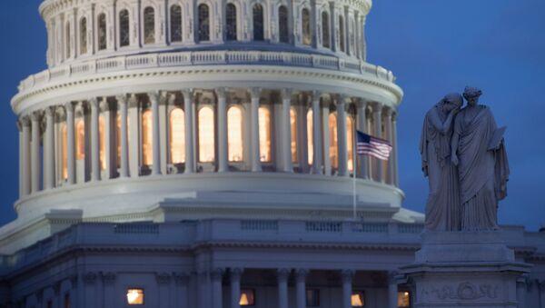 Здание Капитолия в Вашингтоне - Sputnik Аҧсны