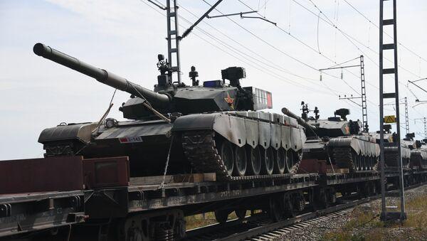 Подготовка к военным учениям Восток-2018 в Забайкальском крае - Sputnik Аҧсны