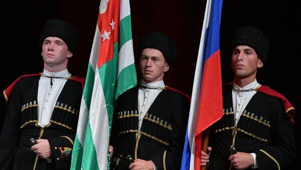 Празднование 10-летней годовщины признания Россией независимости Абхазии - Sputnik Абхазия