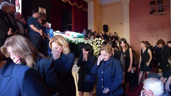 Началась церемония прощания с Геннадием Гагулия - Sputnik Аҧсны