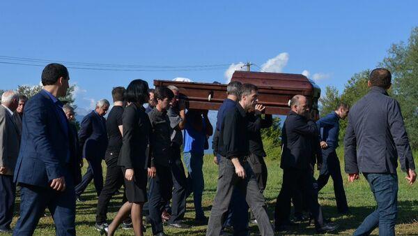 Похороны Геннадия Гагулия - Sputnik Аҧсны