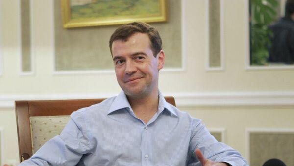 Дмитрий Медведев - Sputnik Аҧсны