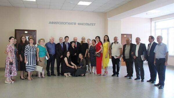 Первый абхазо-адыгский литературный фестиваль - Sputnik Аҧсны