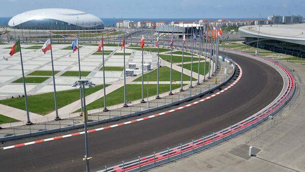 Строительство трассы Формулы-1 в Сочи - Sputnik Аҧсны