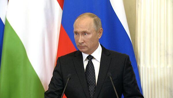 Путин о сбитом в Сирии российском самолете ИЛ-20 - Sputnik Абхазия