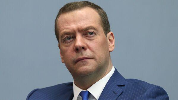 Премьер-министр РФ Д. Медведев принял участие в VI Петербургском международном юридическом форуме - Sputnik Абхазия