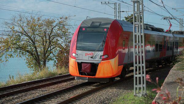 Скоростной электропоезд Ласточка в Сочи - Sputnik Аҧсны