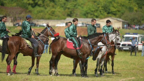Международный турнир по конному спорту в Бзыпте - Sputnik Аҧсны
