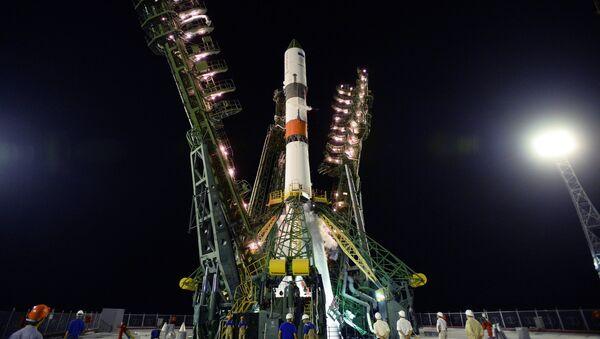 Запуск РН «Союз-2.1А» С ТГК «Прогресс МС-09» с космодрома Байконур - Sputnik Аҧсны