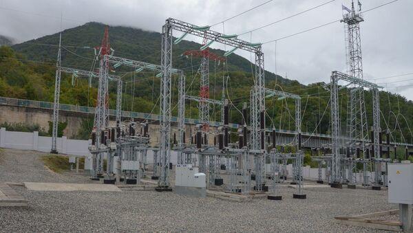Открытие электроподстанции Гагра-1 - Sputnik Абхазия