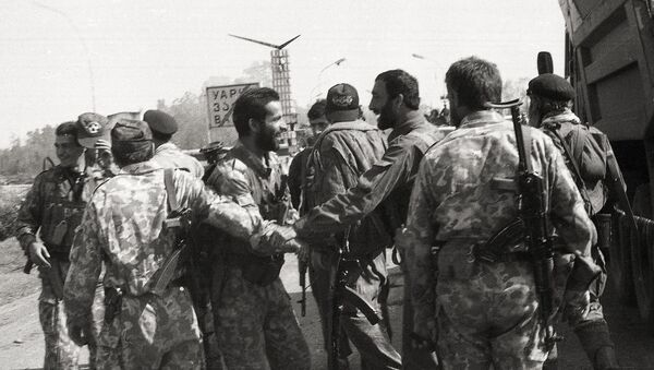 Встреча бойцов Восточного и Западного фронтов - Sputnik Абхазия