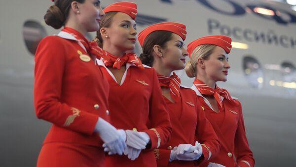 Передача авиакомпании Аэрофлот 50-го самолета Sukhoi Superjet 100 - Sputnik Абхазия