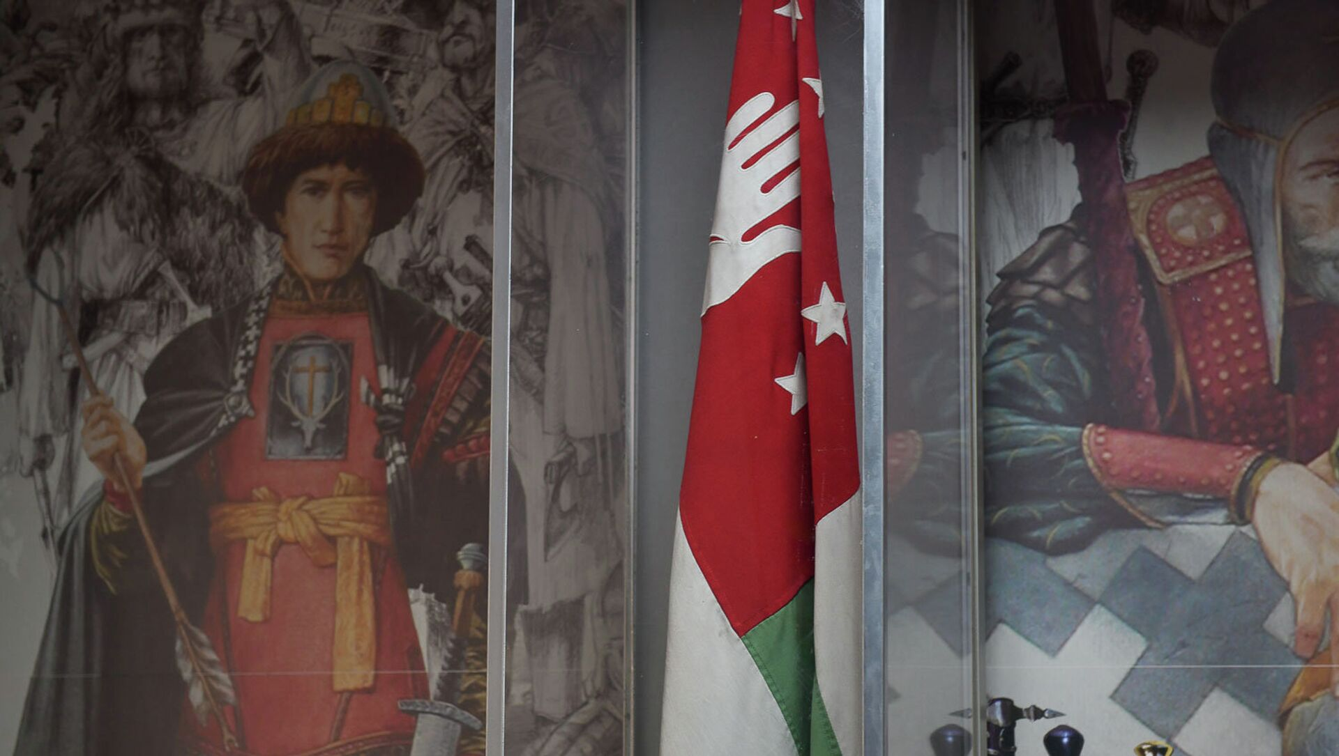 Знамя Победы в Отечественной войне народа Абхазии - Sputnik Аҧсны, 1920, 22.07.2021