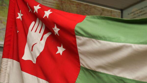 Знамя победы в ОВНА - Sputnik Абхазия
