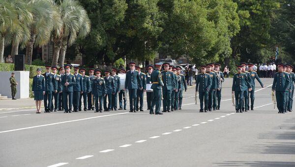 Последний прогон: что можно будет увидеть на Парада Победы в Сухуме - Sputnik Абхазия