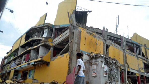 Последствия землятресения и цунами в Индонезии - Sputnik Абхазия
