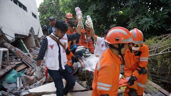 Последствия цунами в Индонезии - Sputnik Аҧсны