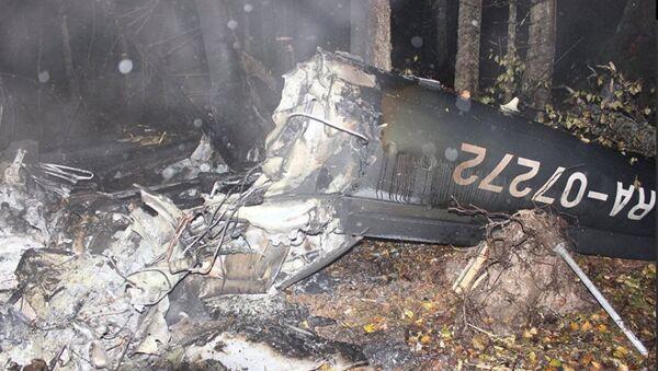 Место крушения вертолета в Костромской области - Sputnik Абхазия