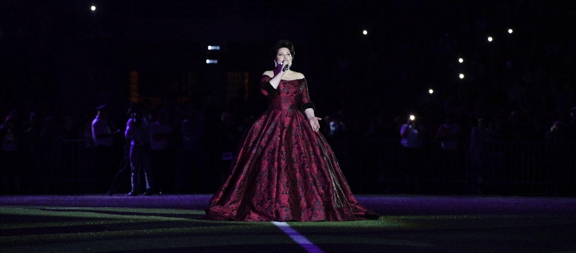 Хибла Герзмава исполняет песню Абхазия моя - Sputnik Аҧсны, 1920, 09.06.2021