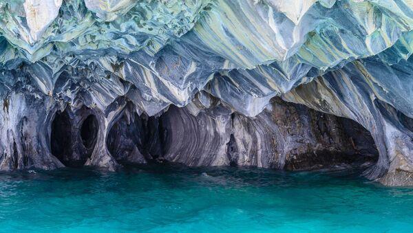 Мраморные пещеры в Чили - Sputnik Абхазия