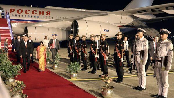 Официальный визит президента РФ В. Путина в Индию - Sputnik Абхазия