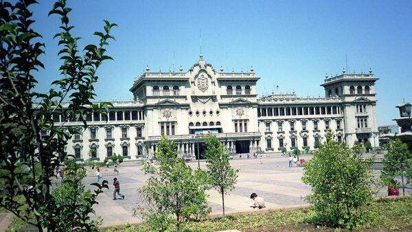 Национальный дворец (резиденция правительства) на площади Пласа майор. - Sputnik Абхазия