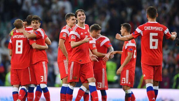 Футбол. Лига наций УЕФА. Матч Россия - Турция - Sputnik Аҧсны