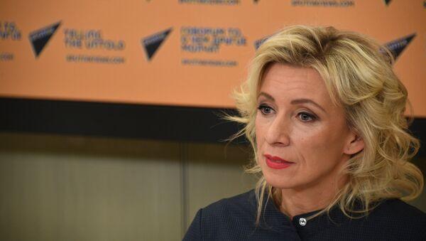 Мария Захарова - Sputnik Абхазия