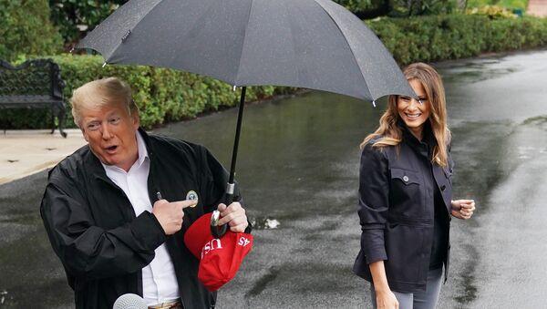 Дональд и Мелания Трамп - Sputnik Абхазия