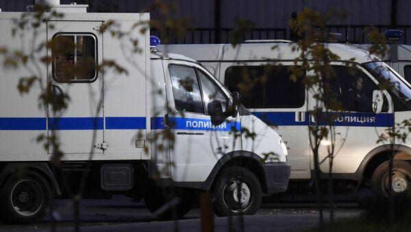 Автомобили полиции - Sputnik Абхазия