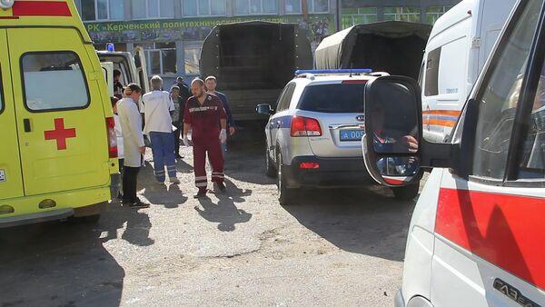 Теракт в политехническом колледже в Керчи - Sputnik Абхазия