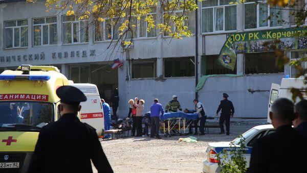 Нападение на керченский колледж - Sputnik Абхазия