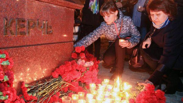 Акции памяти погибших при нападении на керченский колледж - Sputnik Абхазия