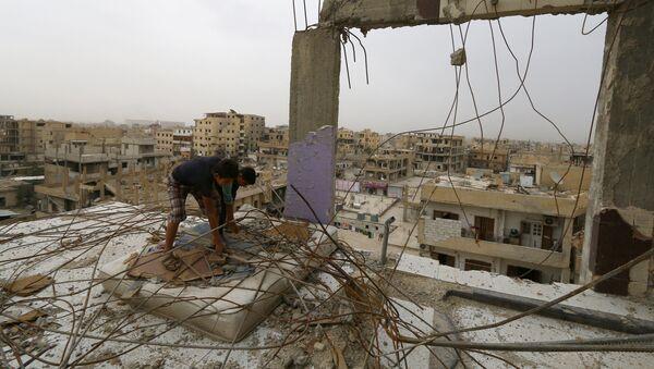 Город Ракка в Сирии - Sputnik Аҧсны