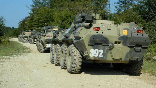 Военнослужащие ЮВО оперативно переброшены в горные районы Абхазии - Sputnik Аҧсны