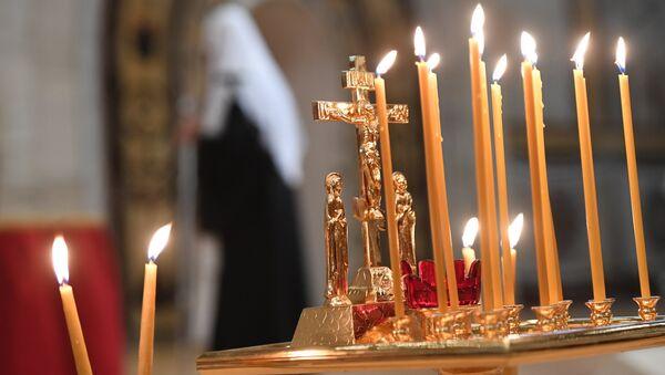 Свечи в храме - Sputnik Аҧсны