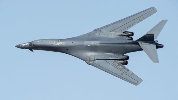 Бомбардировщик ВВС США B-1 - Sputnik Абхазия