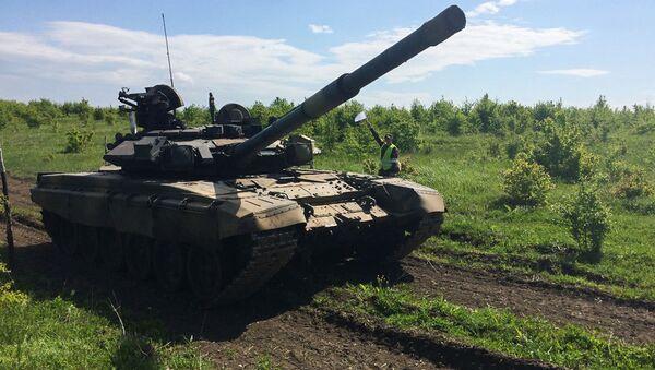 Танкисты российской военной базы ЮВО в Абхазии - Sputnik Аҧсны