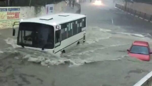 Наводнение в Туапсе - Sputnik Аҧсны