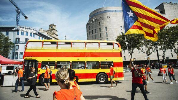 Акции сторонников независимости Каталонии в Барселоне - Sputnik Абхазия