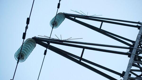 Обесточенные высоковольтные линии электропередач - Sputnik Абхазия