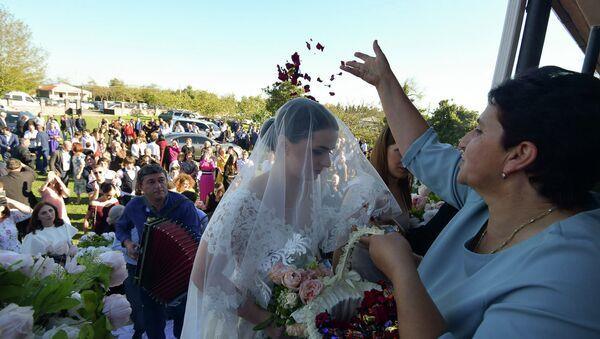 Абхазская свадьба - Sputnik Абхазия