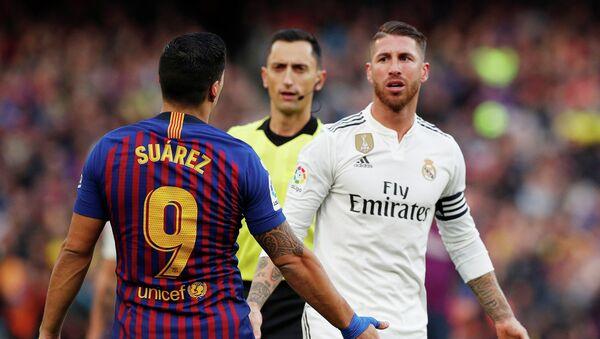 Чемпионат Испании. Барселона - Реал Мадрид - Sputnik Аҧсны