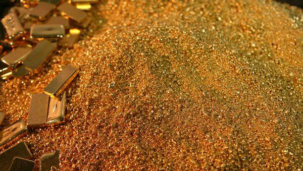 Золотые слитки. Архивное фото - Sputnik Абхазия