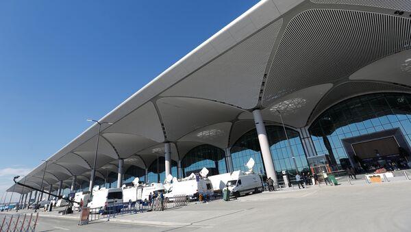 Терминал нового аэропорта в Стамбуле - Sputnik Абхазия