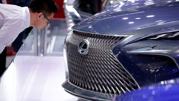 Концепт-кар Lexus LF-FC - Sputnik Абхазия