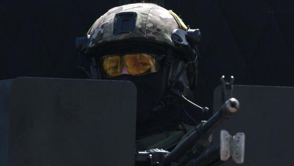 Сотрудник подразделения спецназначения ФСБ России - Sputnik Абхазия